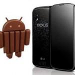 Nexus 4 с 512 Мбайт ОЗУ использован Google в целях оптимизации Android 4.4