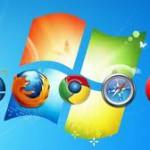 Доли браузеров на рынке ПК по состоянию на февраль 2014 года