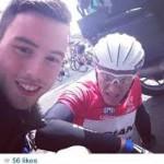 С жалобой на фанатов «селфи» обратились участники «Тур де Франс»