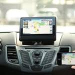 Беспроводной монитор для автомобиля Car Kar Play, предназначенный для вывода изображения с iPhone или iPad