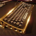 Клавиатура в стиле ретро